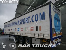 used Pacton tautliner semi-trailer