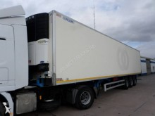 Renders multi temperature refrigerated semi-trailer