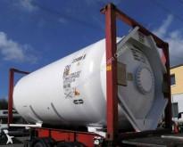 used Van Hool gas tanker semi-trailer