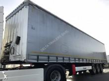 used Krone tautliner semi-trailer