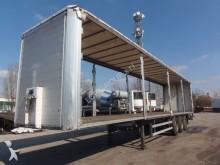 used Merker tarp semi-trailer