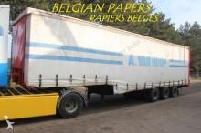 used Faymonville heavy equipment transport semi-trailer