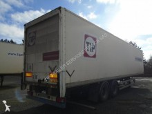 used Asca plywood box semi-trailer