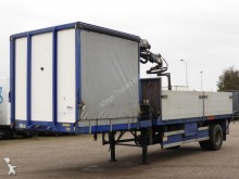 Pacton 10 TM CRANE POWERPAC semi-trailer