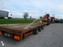 used Samro heavy equipment transport semi-trailer