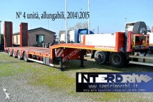 used Kässbohrer heavy equipment transport semi-trailer