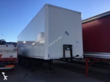used Merker plywood box semi-trailer