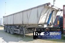 Menci semirimorchio vasca ribaltabile alluminio 32m cubi usato semi-trailer