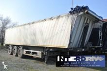 TecnoKar Trailers semirimorchio vasca ribaltabile alluminio 50m cubi usato semi-trailer