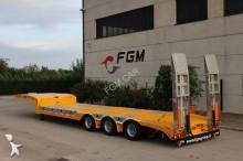 new FGM heavy equipment transport semi-trailer