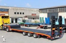 used De Angelis heavy equipment transport semi-trailer