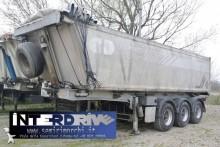 Menci semirimorchio vaca ribaltabile alluminio 32m cubi usato semi-trailer