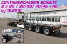 used Schmitz Cargobull chassis semi-trailer