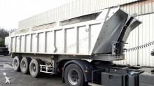 used Benalu construction dump semi-trailer