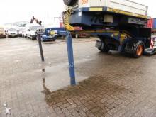 used Broshuis heavy equipment transport semi-trailer