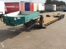 used Goldhofer heavy equipment transport semi-trailer