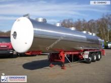 Magyar Chemical tank inox 31 m3 / 1 comp semi-trailer