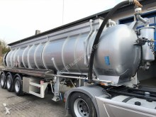 used Schrader chemical tanker semi-trailer