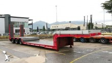 used Cometto heavy equipment transport semi-trailer