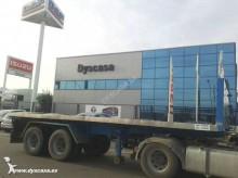 used Leciñena flatbed semi-trailer