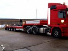 used Fliegl heavy equipment transport semi-trailer