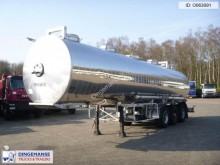 Maisonneuve Chemical tank inox 32.5 m3 / 1 comp semi-trailer