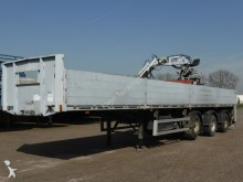 used EKW flatbed semi-trailer