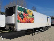 used Univan refrigerated semi-trailer