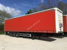 used Fruehauf reel carrier tautliner semi-trailer