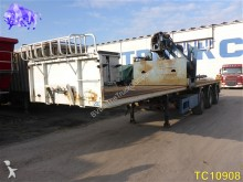 used KWB flatbed semi-trailer