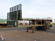 used Broshuis heavy equipment transport semi-trailer