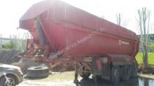 used Fruehauf half-pipe semi-trailer
