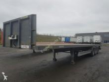 used Viberti flatbed semi-trailer