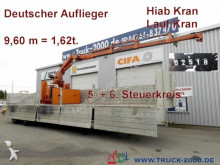 used Langendorf flatbed semi-trailer