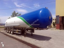 used OMSP Macola gas tanker semi-trailer