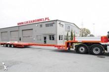 used Stokota heavy equipment transport semi-trailer
