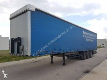 used Kögel dropside flatbed tarp semi-trailer