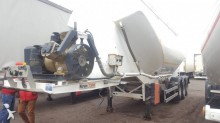 used Nursan powder tanker semi-trailer