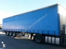 used Trouillet tautliner semi-trailer
