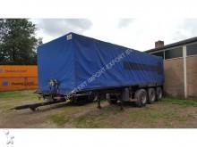 used Trax tautliner semi-trailer