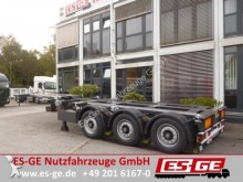 used Broshuis chassis semi-trailer