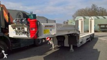 new Louault heavy equipment transport semi-trailer