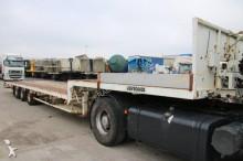 used Leveques heavy equipment transport semi-trailer