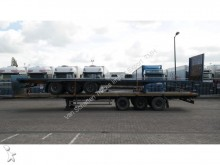 used Burg flatbed semi-trailer