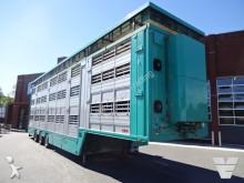 used Finkl livestock semi-trailer