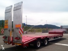 used De Angelis flatbed semi-trailer