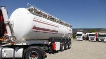 damaged food tanker semi-trailer