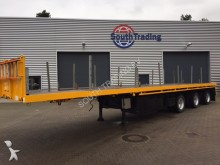 used Floor flatbed semi-trailer