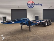 used Burg container semi-trailer