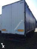 damaged Samro tarp semi-trailer